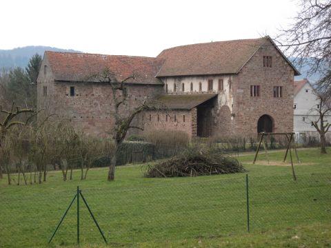 Alemannenweg – Einhardsbasilika – Vierstöck