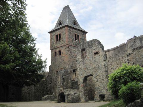 Alemannenweg – Runde zur Burg Frankenstein und Burg Tannenberg