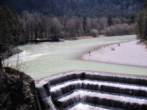 Lechfall mit Klamm – Geopark Allgäu