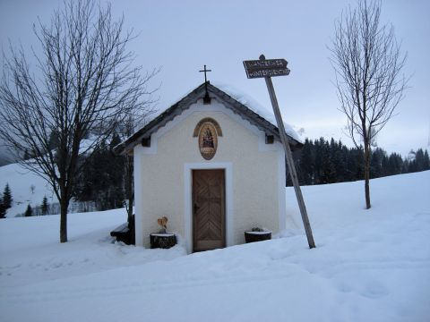 Hinterer Dientner Wanderweg – Winterwanderung