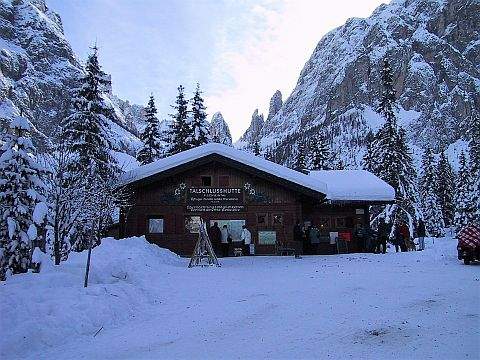 Talschlusshütte Fischleintal