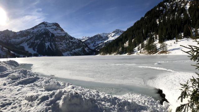 Vilsalpsee und zurück – ein Wintermärchen